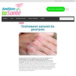 Traitement naturel du psoriasis