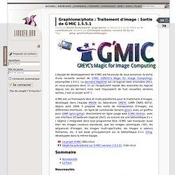 Traitement d'image : Sortie de G'MIC 1.5.5.1