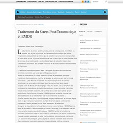 9/09/12 Traitement Stress Post Traumatique et EMDR