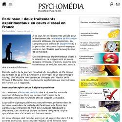 Parkinson: deux traitements expérimentaux en cours d'essai en France