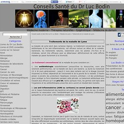 Traitements de la maladie de Lyme