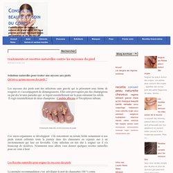 traitements et recettes naturelles contre les mycoses du pied-conseil-beauté