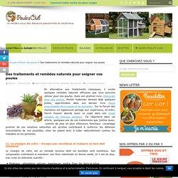 Des traitements et remèdes naturels pour soigner vos poules