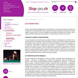 Traitements - Stop-Jeu.ch