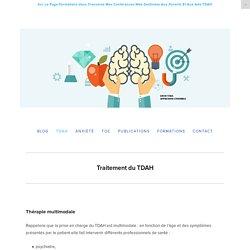 Traiter le TDAH — Louis Vera Pédopsychiatre