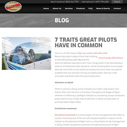 7 Traits Great Pilots Have in Common - Hartzell Propeller
