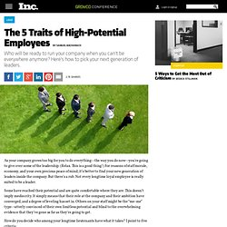 The 5 Traits of High-Potential Employees
