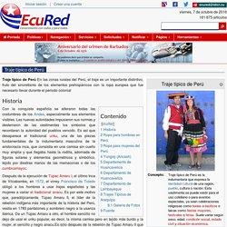 Traje típico de Perú - EcuRed