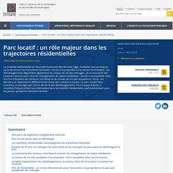 Parc locatif: un rôle majeur dans les trajectoires résidentielles - Insee Analyses Nouvelle-Aquitaine - 68