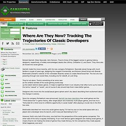 Features - Where Are They Now? Tracking The Trajectories Of Classic Developers