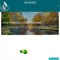 Does Tramadol Cause Insomnia?