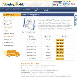 Tramadol Tablets UK, Buy Tramadol Pills Online
