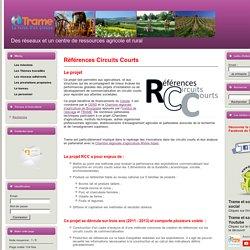 Projet Trame - Circuits Courts - CASDAR RCC