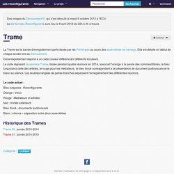 Trame — Les reconfigurants