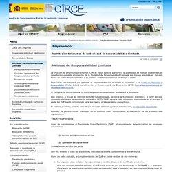 Trámites administrativos (sistema CIRCE)