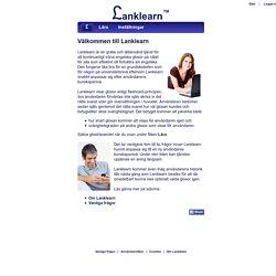 Träna din engelska - Lanklearn™