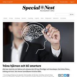 Träna hjärnan och bli smartare