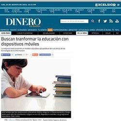 Buscan tranformar la educación con dispositivos móviles
