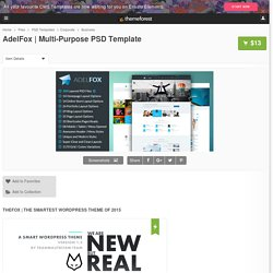 Multi-Purpose PSD Template by tranmautritam