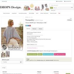 "Tranquility / DROPS 137-29 - Virkad DROPS sjal i ""BabyAlpaca Silk"" - Free pattern by DROPS Design"