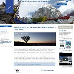 Mountain Wilderness - Association nationale de protection de la Montagne - Zones de tranquillité: espaces naturels de ressourcement pour l'Homme