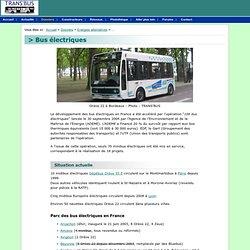Dossier : Bus électriques