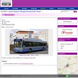 TRANS'BUS - Réseaux - 25000 : Besançon - Ginko