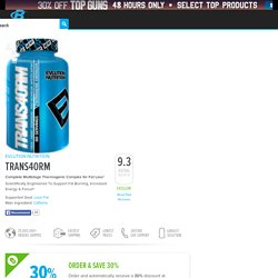 TRANS4ORM by EVLUTION NUTRITION at Bodybuilding.com - Best Prices on TRANS4ORM!