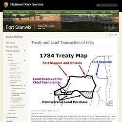 Treaty and Land Transaction of 1784 - Fort Stanwix National Monument