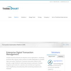 Automated Digital Transactions - ThinkSmart