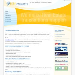 Transaction Services - HBN Interactive (HBNi) - We make Real Estate Transactions happen.