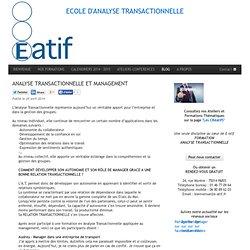 Formation en analyse transactionnelle à Paris