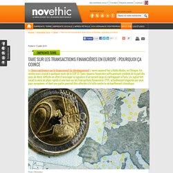 Taxe sur les transactions financières en Europe : pourquoi ça coince