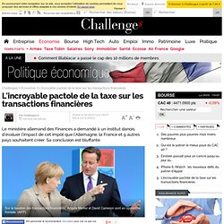 L'incroyable pactole de la taxe sur les transactions financières