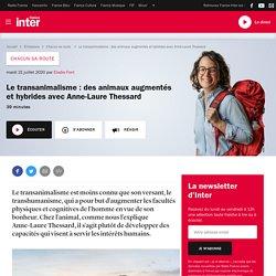 FRANCE INTER 21/07/20 Chacun sa route - Le transanimalisme : des animaux augmentés et hybrides avec Anne-Laure Thessard