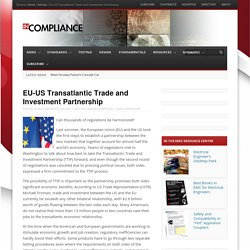 EU-US Transatlantic Trade and Investment Partnership