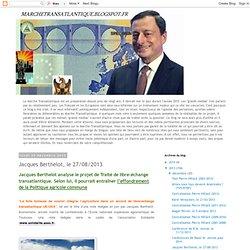 Jacques Berthelot, le 27/08/2013