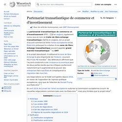 Partenariat transatlantique de commerce et d'investissement