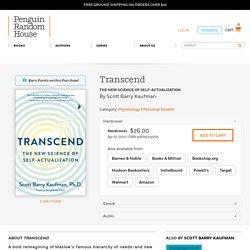 Transcend by Scott Barry Kaufman: 9780143131205