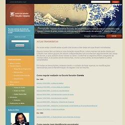 Aulas Transcritas « Centro de Estudos Claudio Ulpiano