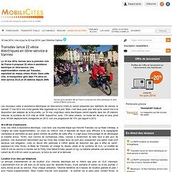 Transdev lance 22 vélos électriques en libre-service à Vannes