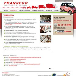 TRANSECO - TRANSECO transports et courses