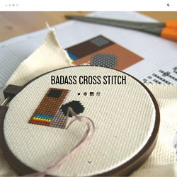 Badass Cross Stitch — How To Transfer Embroidery Patterns To Your Fabric