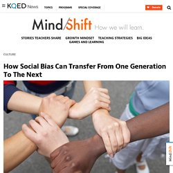 How Social Bias Can Transfer From One Generation To The Next
