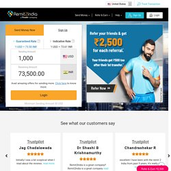 Transfer Money to India Instantly