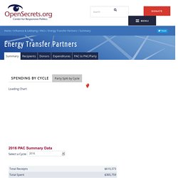 Energy Transfer Partners Summary