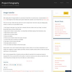 Project:Fotography