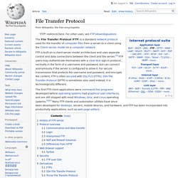File Transfer Protocol - Wikipedia
