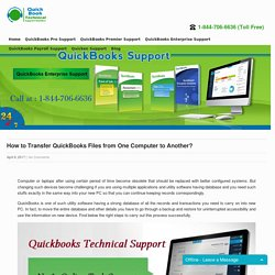 How to Transfer QuickBooks Files from One Computer to Another