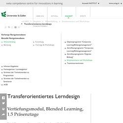 swiss competence centre for innovations in learning, scil, Management von Innovationen in der betrieblichen Bildungsarbeit